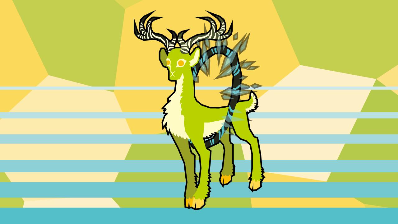 SCP-2845 - 牡鹿13 (矢量图)