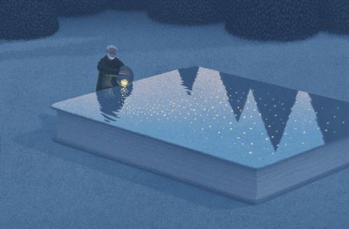 《书》 曾获得国际插画大奖的插...