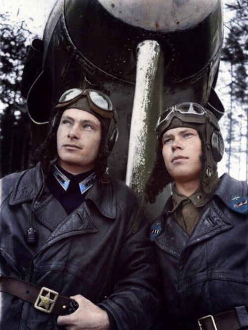 两名苏联空军:николай...