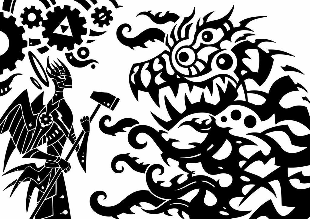 金属与血肉之战 01
