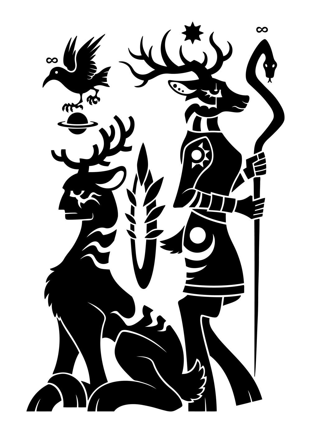 牡鹿[SCP-2845] & Huntokarr [WTNV] Crossover