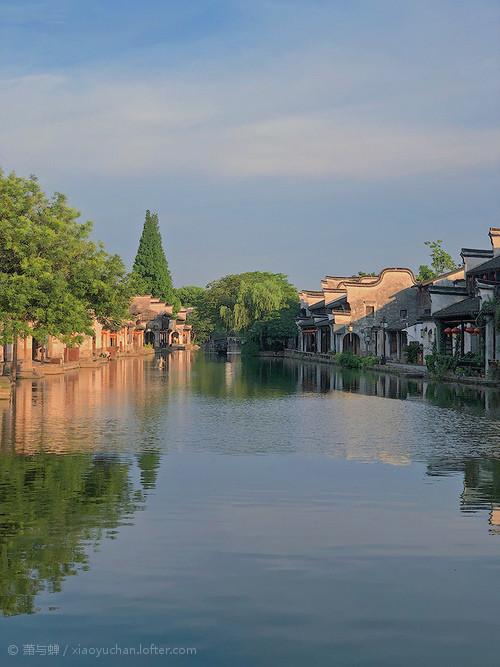 南浔古镇,这是属于未开发区域,...