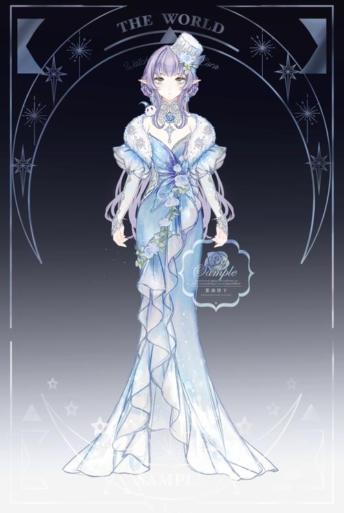 稿件展示,冬季礼服