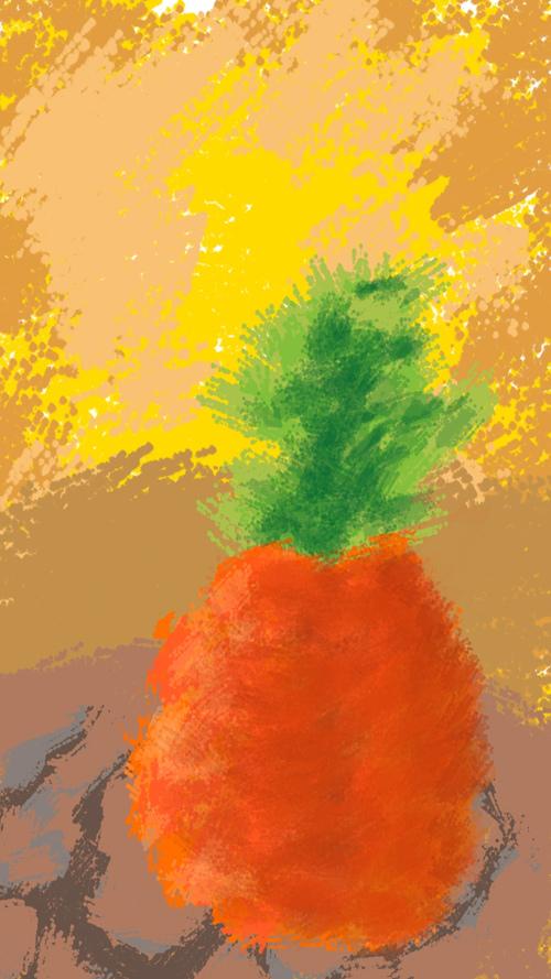 今天是小菠萝哟。( ¨...