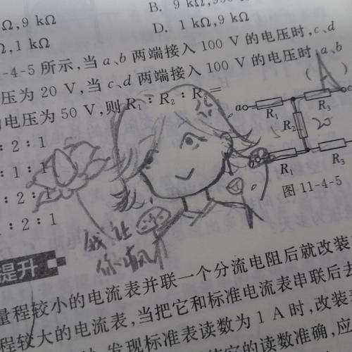 做物理题崩溃的孩子T_T